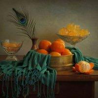 Натюрморт с мандаринами :: Елена Чаусова
