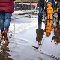 В этот день брела весна пешком по лужам... :: Ирина Данилова