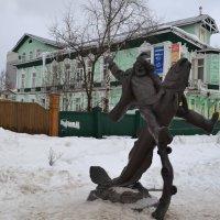 Памятник архангельскому мужику :: Наталья Левина