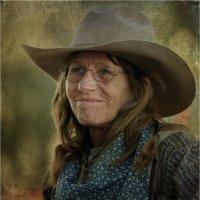 Портрет техасской женщины :: Танкист .