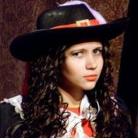 Дама в шляпе. :: nadyasilyuk Вознюк