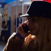девушка в шляпке :: Арсений Корицкий