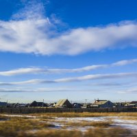 1 - Марта над деревней. :: юрий Амосов