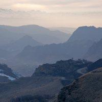 Перевал ГумБаши (Гум-Баши),Вид на Аул Ве́рхняя Ма́ра... :: Vadim77755 Коркин