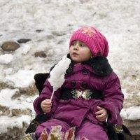Продавщица мороженого :: Ольга Осовская