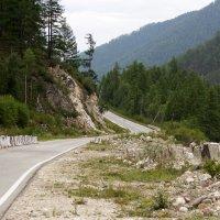 Дорога вдоль реки Иркут :: Оксана Пучкова