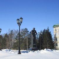 Памятник учёному. :: Мила Бовкун