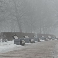 Пока туман не рассеялся. :: Владимир Гилясев