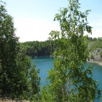 Горное озеро :: Вера Щукина