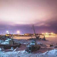 Юганский порт :: Олег Бондаренко