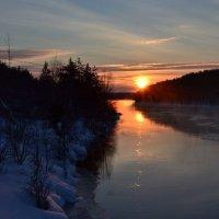 Морозный вечер :: Ольга