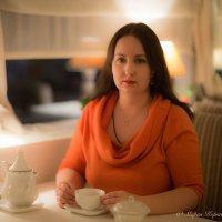 вечерний чай :: Мария Корнилова
