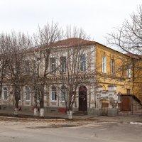 Борисоглебск. Бывшее здание частной гимназии Е.В.Забниной. Школа № 9 :: Алексей Шаповалов Стерх