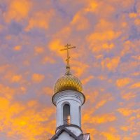 На закате :: Леонид Соболев