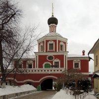 Церковь Спаса Нерукотворного Образа Зачатьевского монастыря :: Александр Качалин