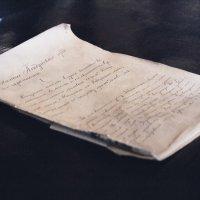 Старинный документ :: Марина Кириллова