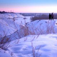 Зимний пейзаж :: Анна Щеголенко