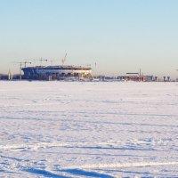 Строится новый стадион. :: Ирина Нафаня