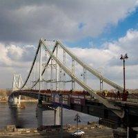 Пешеходный мост.Киев. :: Kudryasha Kudryasha