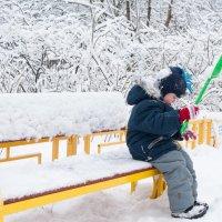 еще немного и будет снеговик :: Екатерина Куликова