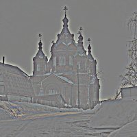 Дорога к храму. (2). :: Николай Масляев