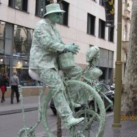 Барселона. Живые скульптуры :: Герович Лилия