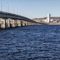 Мост через Волгу. :: Владимир Сквирский