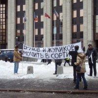 Митинг оппозиции на проспекте Сахарова :: Владимир Дмитриев