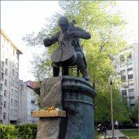 Памятник Мстиславу Ростроповичу в Москве. :: Елена