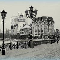 Зима в городе :: Сергей Карачин