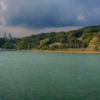 Тучи над озером... :: марк