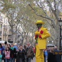 Живые скульптуры. Барселона :: Герович Лилия