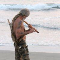 Флейтист и море :: Андрей Дворкин
