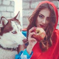 Красная шапочка и волк :: Валерия Задкова