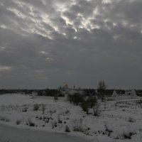 Небо над Суздалем :: Евгения Куприянова