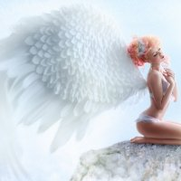 ангел греется на солнце :: Veronika G
