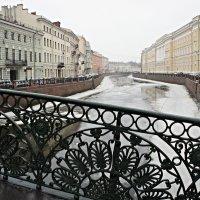 Набережная р. Мойки. Певческий мост :: Елена Смолова