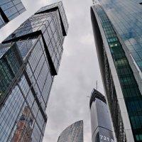 Московские небоскрёбы :: Анастасия Смирнова