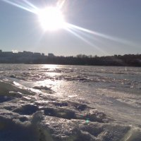 Днепр зимой. :: Olga Grushko