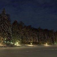 Ночь в новогодние праздники :: Сергей Сёмин