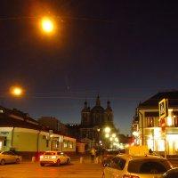 IMG_2910 - Москва вечерняя, а я шагаю с работы устало :: Андрей Лукьянов