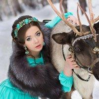 Полина и Тува :: Анна Ващенко