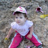 Лопаточки,ведерочки,песочница и Я! :: Юлия Тюняева