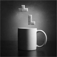 Чайный тетрис. Из серии с чашками :: Виктория Иванова