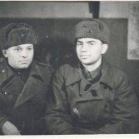 Отец с другом в воинской части 1942 год :: Борис Соловьев