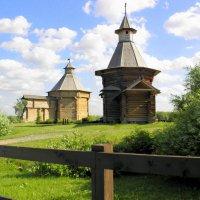 Музей деревянного зодчества в Коломенском. :: Елена