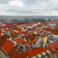 Вид на Прагу со смотровой башни :: Андрей Володин