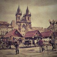 Прага, Старая площадь :: Olena