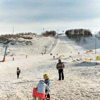 подготовка горнолыжника :: Андрей ЕВСЕЕВ