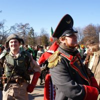 Персонажи парада Дня святого Патрика в Сокольниках 7 :: Николай Дони